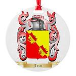 Fern Round Ornament
