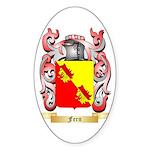 Fern Sticker (Oval 50 pk)