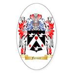 Fermer Sticker (Oval 50 pk)