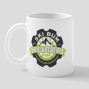 Certified Ski Bum Mug