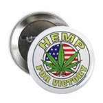 """Hemp for Victory 2.25"""" Button"""