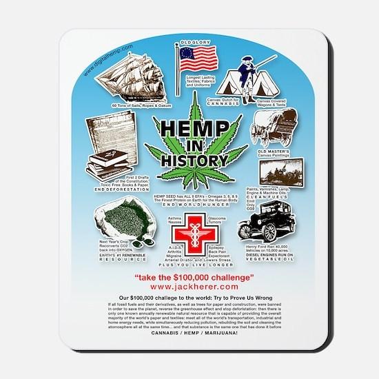 Hemp for Victory Mousepad