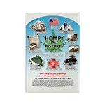 Hemp for Victory Rectangle Magnet (100 pack)