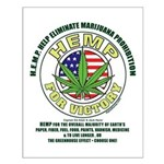 Hemp for Victory Small Poster