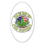 Hemp for Victory Sticker (Oval)