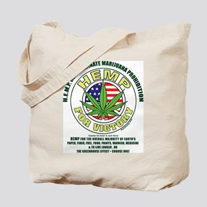 Hemp for Victory Tote Bag
