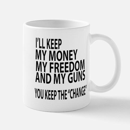 KEEP FREEDOM Mugs