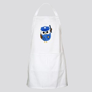 Owl Police Officer Apron