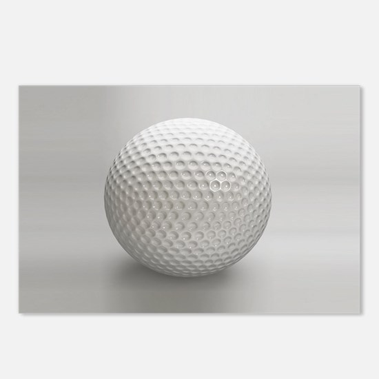 Golf Ball Sport Postcards (Package of 8)