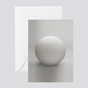 Golf Ball Sport Greeting Cards