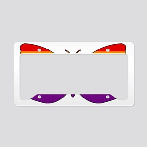 LGBT Butterfly License Plate Holder