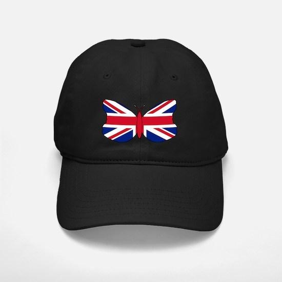Union Jack Butterfly Baseball Hat