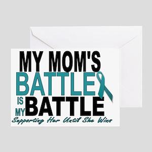 Moms Battle Greeting Card