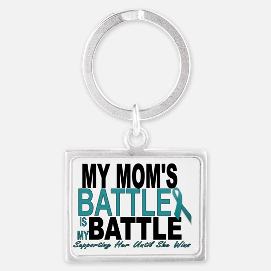 Moms Battle Landscape Keychain