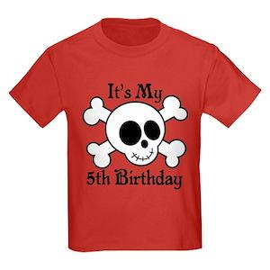 Pirate Birthday T Shirts