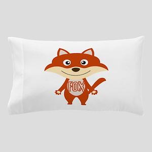 Red Fox Pillow Case