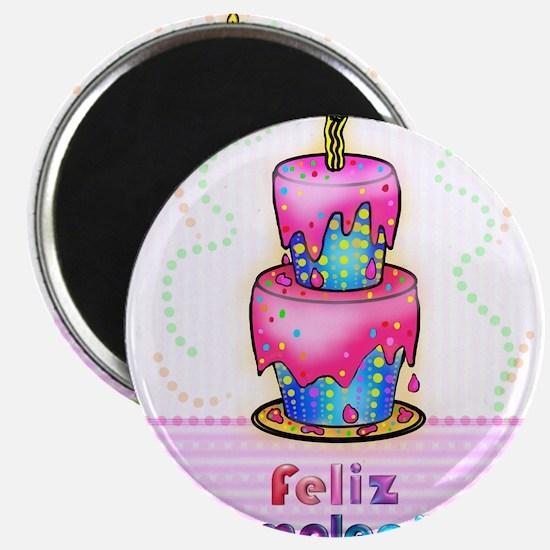 Birthday Cake feliz cumpleanos Magnet
