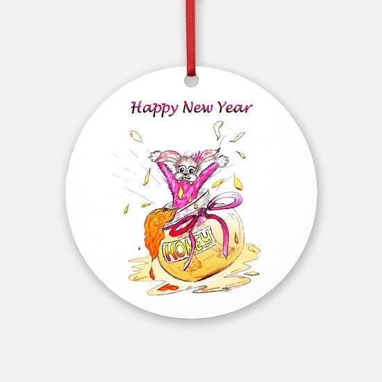 Honey Bunny Happy New Year frida morris FabSpark O