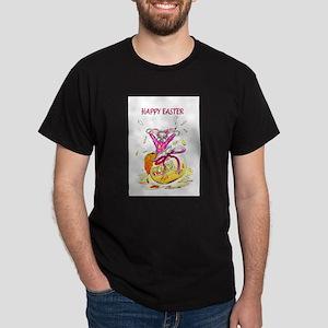 Honey Bunny Happy Easter Dark T-Shirt