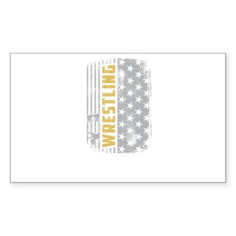 Wrestling World Design Sticker