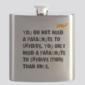 You Do Not Need a Parachute (light) Flask