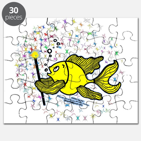 Make A Wish Fish Puzzle