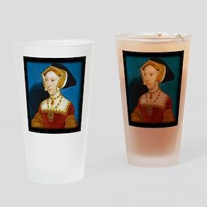 Jane Seymour Drinking Glass