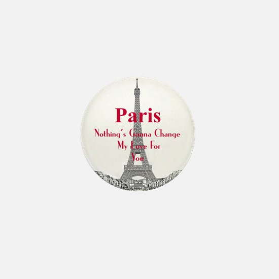 Paris Mini Button