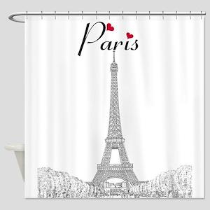 Paris Souvenir Shower Curtains