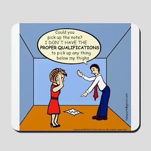 CONGRATULATIONS Proper Qualifications funny comics