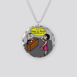 Pawn my Mojo , FABSPARK comic Necklace Circle Char