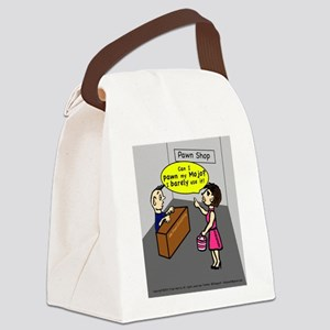 Pawn my Mojo , FABSPARK comic Canvas Lunch Bag