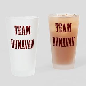 team donavan Drinking Glass