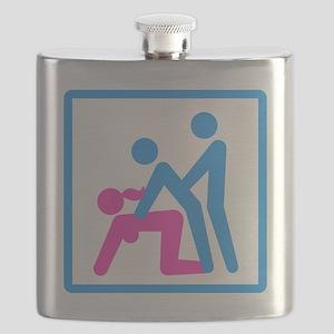Kamasutra - Menage a Trois (FMM) Flask