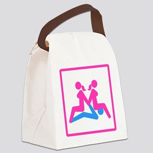 Kamasutra - Menage a Trois (FMF) Canvas Lunch Bag