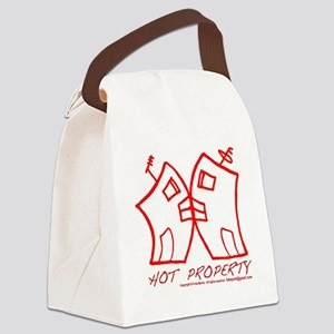 Hot Property RED B-L-DING Canvas Lunch Bag