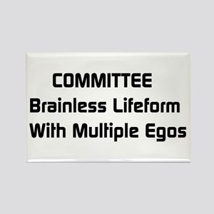 Committee Humor Rectangle Magnet