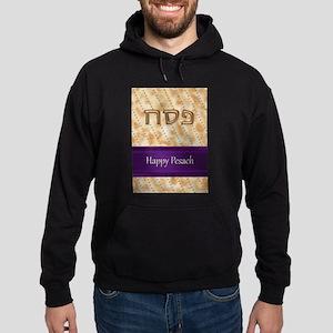 Matzah Card, fabspark Hoodie (dark)
