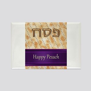 Matzah Card, fabspark Rectangle Magnet
