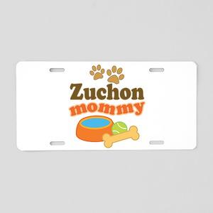 Zuchon Mom Aluminum License Plate