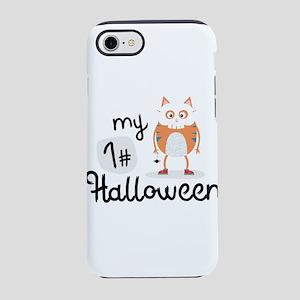 My First Halloween Cat Skull iPhone 7 Tough Case