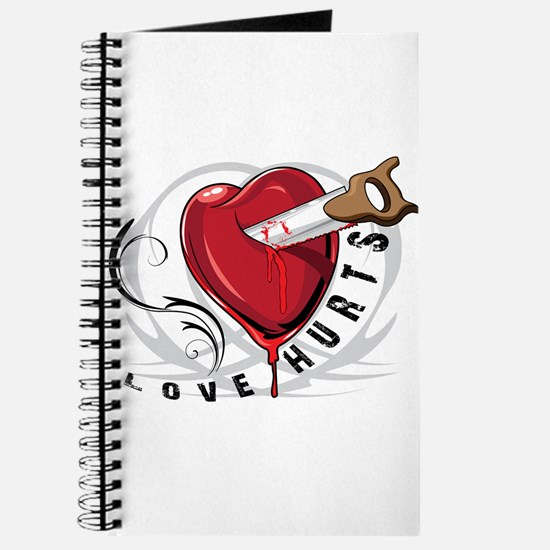 Love Hurts with Saw Journal