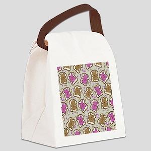 PBJ Sandwich Canvas Lunch Bag