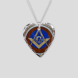 masons Necklace Heart Charm
