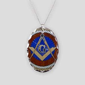 masons Necklace Oval Charm