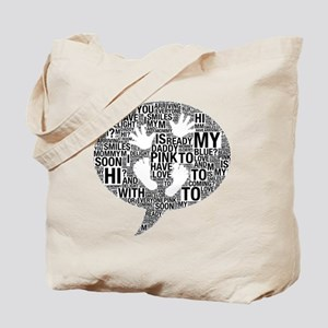 Hi Mommy and Daddy 4GT Maternity Design Tote Bag