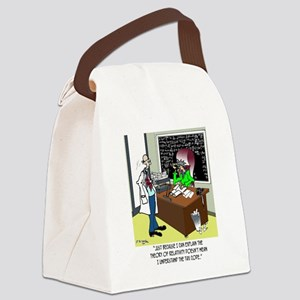 Theory of Relativity  The Tax Cod Canvas Lunch Bag