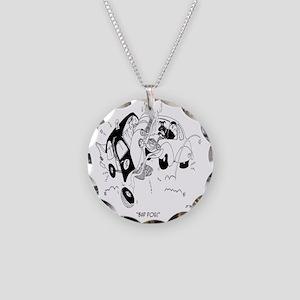 Bad Dog! Necklace Circle Charm