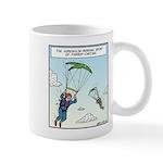 Parrot-chuting Mugs