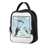 Parrot-chuting Neoprene Lunch Bag